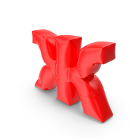 Balloon Letter Cyrillic Ж PNG & PSD Images