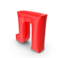 Balloon Letter Cyrillic Л PNG & PSD Images