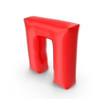 Balloon Letter Cyrillic П PNG & PSD Images