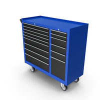 Closed ToolBox Blue PNG & PSD Images