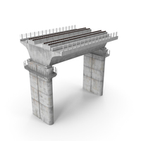 Rail Bridge Section PNG & PSD Images