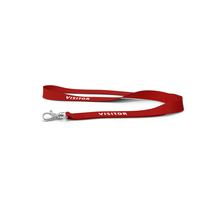 Red Visitor Lanyard PNG & PSD Images