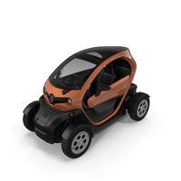 Renault Twizy 2018 PNG & PSD Images