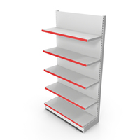 Retail Store Display Shelving PNG & PSD Images