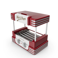 Retro Hot Dog Roller Grill PNG & PSD Images