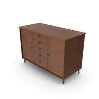 Wooden Cabinet Dark PNG & PSD Images