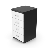 Black White Cabinet PNG & PSD Images