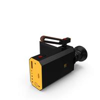 Retro Style Kodak Super 8 Movie Camera Black PNG & PSD Images
