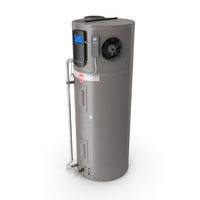Rheem Hybrid Electric Water Heater PNG & PSD Images
