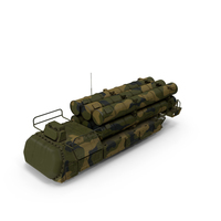 Rockets with Radar Camo Air Defence System PNG & PSD Images