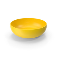 Yellow Bowl PNG & PSD Images
