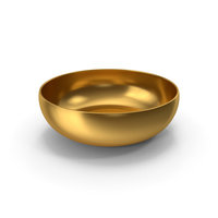 Gold Bowl PNG & PSD Images