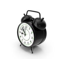 Alarm Clock Black PNG & PSD Images