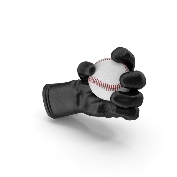 Glove Holding a Baseball Ball PNG & PSD Images