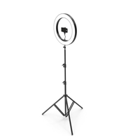 Selfie Lamp with iPhone PNG & PSD Images