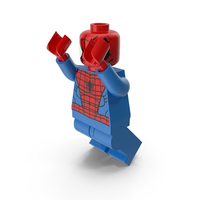 Lego Spiderman Jumping PNG & PSD Images