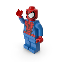 Lego Spiderman Pose PNG & PSD Images