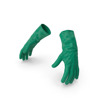 Rubber Safety Gloves PNG & PSD Images