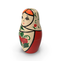 Russian Nesting Doll PNG & PSD Images