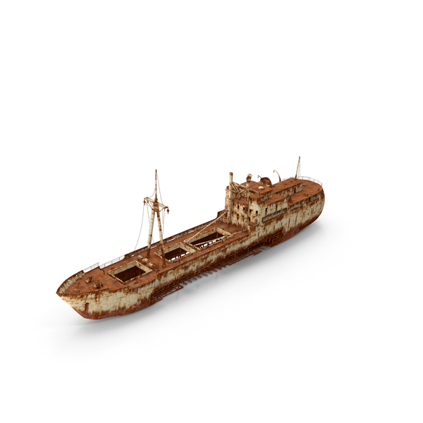 Rusty Ship Wreck PNG & PSD Images