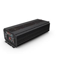 Power Inverter Black Used PNG & PSD Images