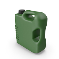Green Plastic Jerrycan PNG & PSD Images