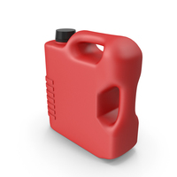 Red Plastic Jerrycan PNG & PSD Images