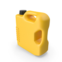 Yellow Plastic Jerrycan PNG & PSD Images