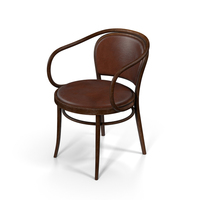 TON Chair Chair Walnut PNG & PSD Images