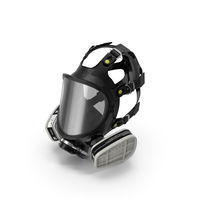 Safety Full Face Respirator PNG & PSD Images