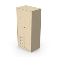 Wooden Wardrobe PNG & PSD Images
