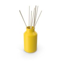 Decorative Jar Yellow PNG & PSD Images