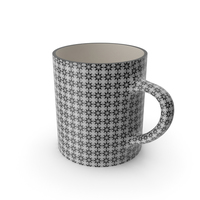Printed Black Cup PNG & PSD Images