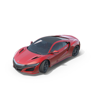 Acura NSX 2016 PNG & PSD Images