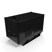 Power Generator Black PNG & PSD Images