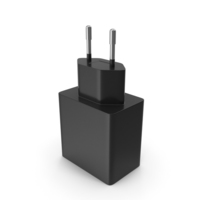 Charger Black PNG & PSD Images