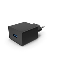 USB Charger Black PNG & PSD Images