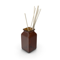 Decorative Glass Vase PNG & PSD Images