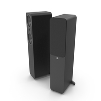 Floor Standing Speakers System PNG & PSD Images