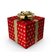 Gift Box Red PNG & PSD Images