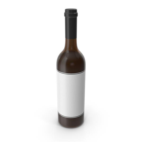 Wine Bottle Black White PNG & PSD Images