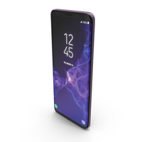 Samsung Galaxy S9 Lilac Purple PNG & PSD Images