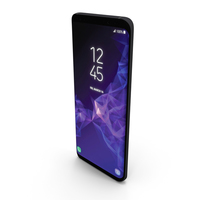 Samsung Galaxy S9 Titanium Gray PNG & PSD Images