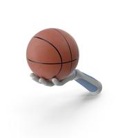 RoboHand Holding a Basketballl Ball PNG & PSD Images