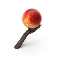 Creature Hand Holding a Bowling Ball PNG & PSD Images