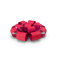 Ribbon Bow Red PNG & PSD Images