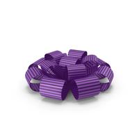 Ribbon Bow Gift Box Purple PNG & PSD Images