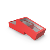 Opened Box Red PNG & PSD Images