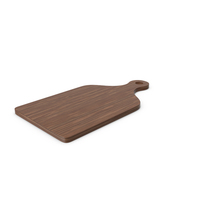 Cutting Board Dark Wood PNG & PSD Images