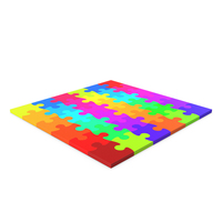 Jigsaw Puzzle 6x6 PNG & PSD Images